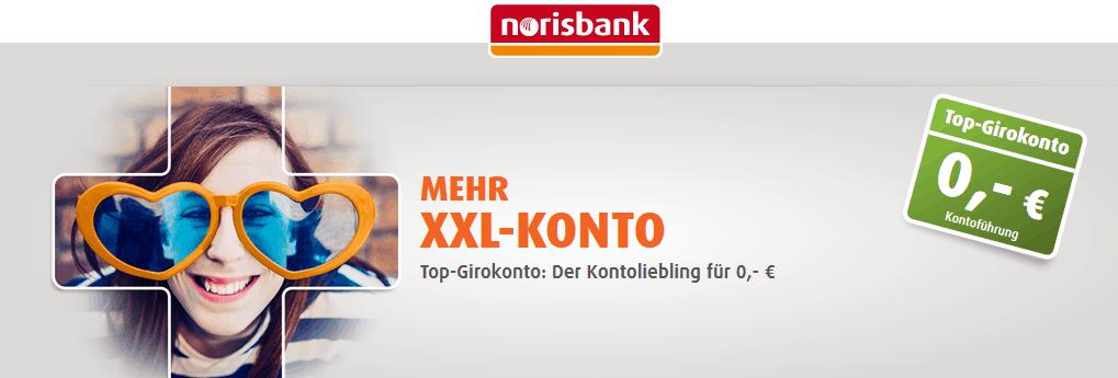 Kostenloses Girokonto bei der Norisbank